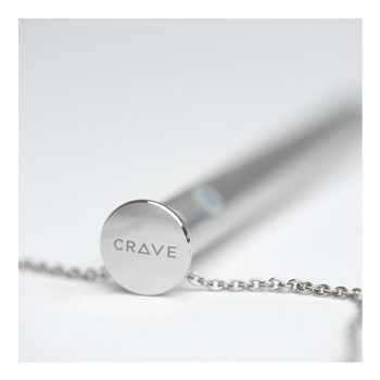 Crave Vesper Vibrator Necklace Silver II