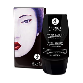 Shunga Orgasmic Cream Secret Garden Verpackung II