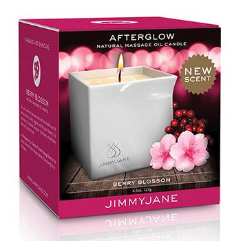 Afterglow Massagekerze Berry Blossom Verpackung