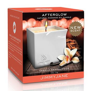 Afterglow Massagekerze Vanilla-Sandalwood Verpackung